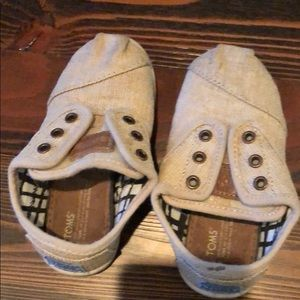 Toms Paseo Toddler Size 7